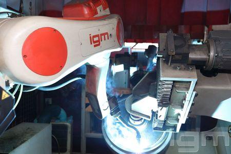 igm AP_FMS Line for excavator wheels_Earthmoving