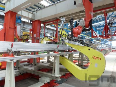 igm AP_spot welding gantry_Railway