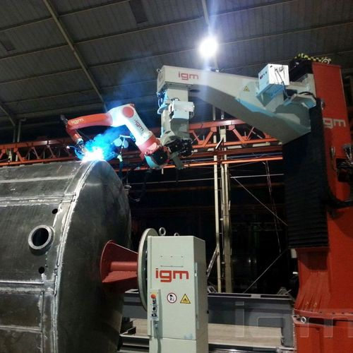 igm Robotersysteme AG - welding robot systems made in Austria